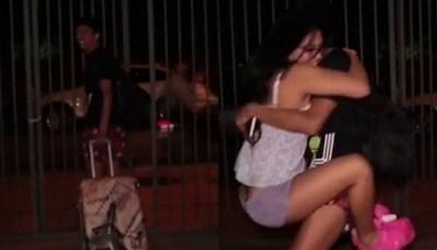 Toñito abandonó la casa de Jazmín Mernes
