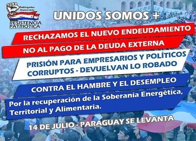*CDEnosecalla: ¡Basta de robos y hambre! gritarán miles de indignados en histórico acto de rebeldía