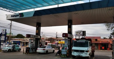 Alarma frustró robo de caja fuerte en estación de servicio de Fernando de la Mora