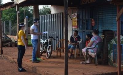 Voluntarios de Techo iniciaron jornadas de encuestas en asentamientos