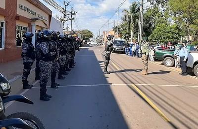 Alivio en Horqueta por desembarco del Grupo Lince para frenar ola de delincuencia