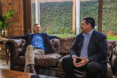 Visita de Macri a Cartes es privada y no debilita imagen de Mario Abdo, dice Lugo