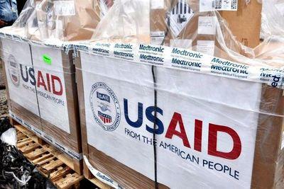 COVID-19: Llegaron 50 respiradores donados por EE.UU.