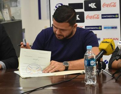 Pinti Álvarez está integrado al plantel de Guaireña