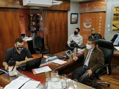Concejales de Encarnación presentaron pedido de intervención