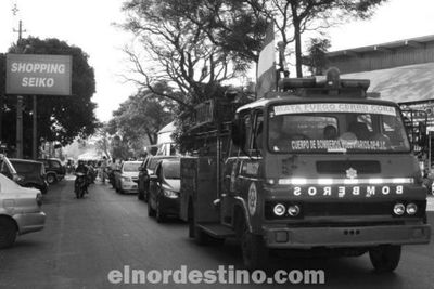 Comerciantes de Pedro Juan Caballero realizaron caravana para exigir al Gobierno reactivación comercial en zonas fronterizas