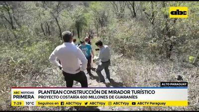 Plantean construir mirador turístico en Alto Paraguay