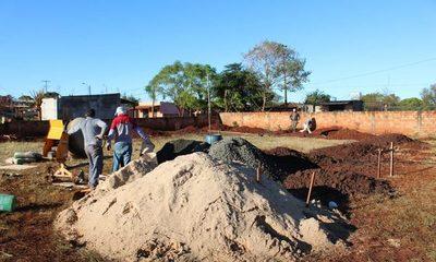 Roque Godoy construye tinglado multiuso en la Escuela Santo Domingo de Guzmán – Diario TNPRESS