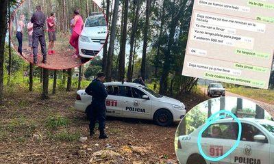 Policías cobran G. 300 mil a menor  para dejarlo nuevamente en libertad – Diario TNPRESS