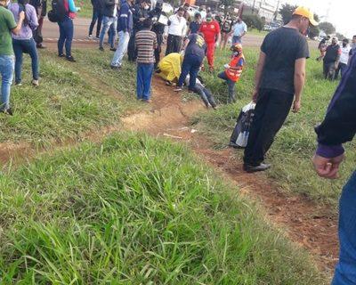 Motociclista muere en  violento accidente de  tránsito sobre Ruta 02 – Diario TNPRESS