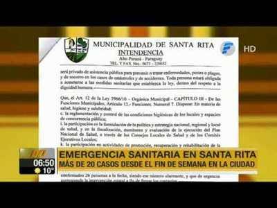 Santa Rita toma medidas ante delicada situación por coronavirus
