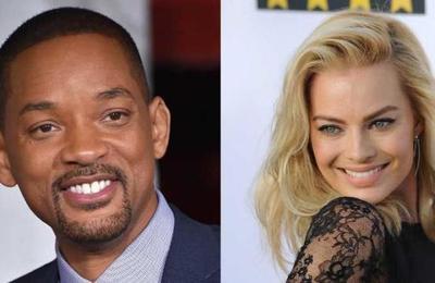 Reflotan rumores de un romance entre Will Smith y Margot Robbie