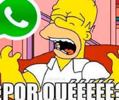 WhatsApp registra caída internacional y es tendencia en Twitter