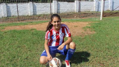 Jessica Martínez, la primera paraguaya que vestirá la camiseta del Real Madrid