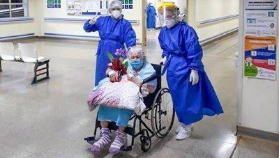 Tiene 94 años y venció al coronavirus