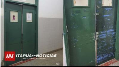 REALIZAN TRABAJOS DE MANTENIMIENTO EN EL HOSPITAL REGIONAL DE ENCARNACIÓN