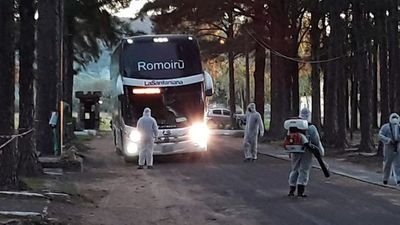 Cuarenta connacionales llegaron a Paraguarí, donde cumplirán cuarentena