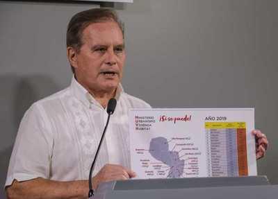 Durand justifica aumento del precio de las viviendas sociales