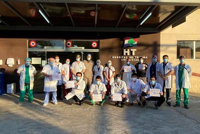 Trabajadores del Hospital de Traumacontinúan reclamando la recategorización salarial