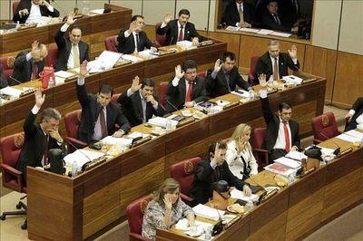 Fisura en Añetete empezó tras elección de Mesa Directiva del Senado
