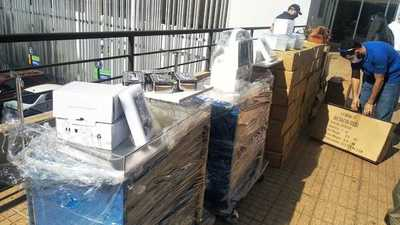 Gobernación entrega segundo lote de equipos al Hospital Integrado de Alto Paraná