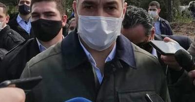 """Mario Abdo: """"La mejor respuesta a los incrédulos es seguir inaugurando obras"""""""