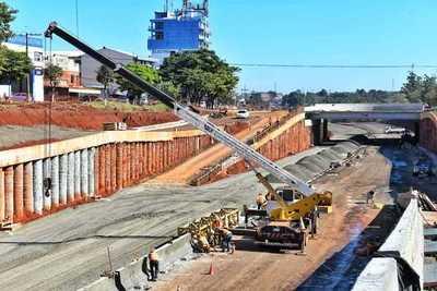 Un 50% de avance presentan las obras del Multiviaducto de CDE
