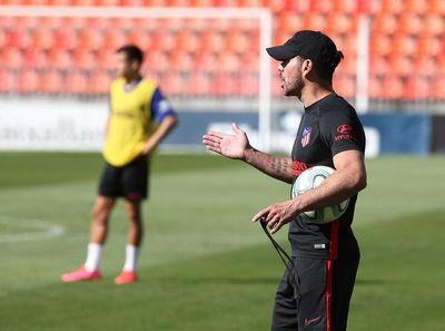 """Simeone: """"No entreno para que me valoren, sino para que gane mi equipo"""""""