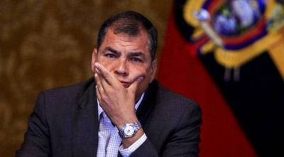 Ratifican condena de 8 años de cárcel al expresidente Rafael Correa