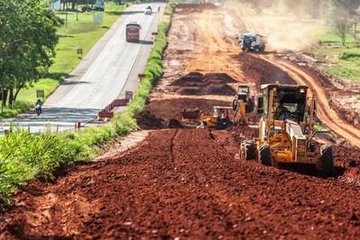 Duplicación de la Ruta PY02 alcanza un tercio de ejecución en menos de un año
