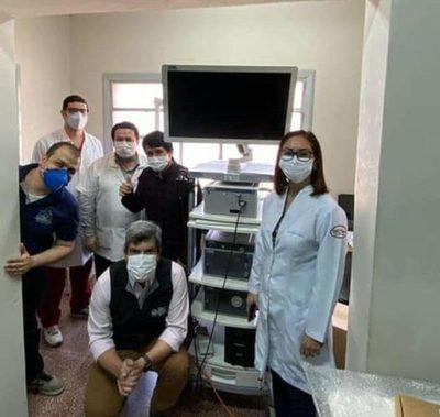 Hospital Regional de CDE recibe moderno equipo de laparoscopia para servicio de cirugía