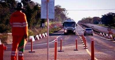 Ruta PY02 renueva 32 kilómetros de pavimentado