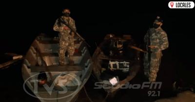 Contrabando en Cambyretá: Incautan artículos electrónicos y armas de fuego