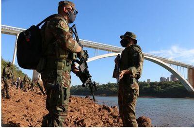 Abdo: Fronteras no se abrirán hasta que se aplane la curva en Brasil