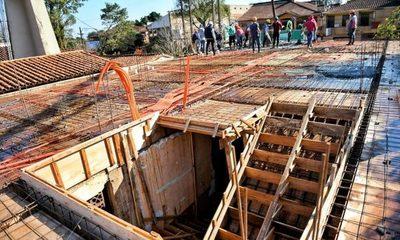 Avanzan obras en bloque de Urgencias del Hospital de Minga Guazú