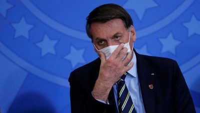 Bolsonaro se reencuentra con simpatizantes tras dar negativo al coronavirus