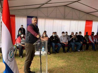 """Abdo dice que """"el consenso"""" favorecerá al pueblo, al que volverá a pedir su voto en unos meses"""