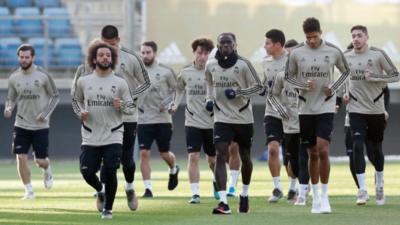 Madrid entrena de cara al City
