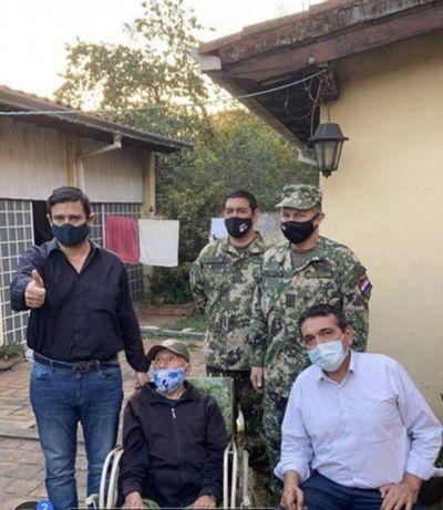 En plena pandemia intentaron desalojar a excombatiente de 103 años – Prensa 5