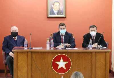 Eligen nuevas autoridades de la ANR en el marco del proceso de unidad