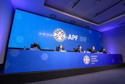 Informe de gestión de la APF