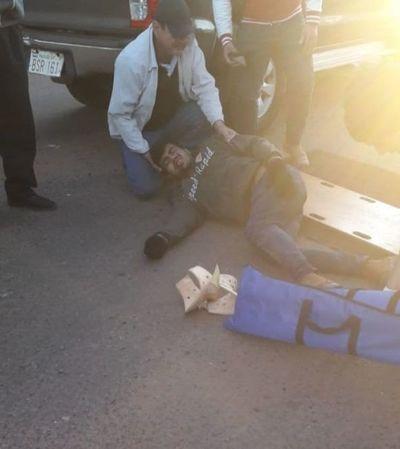 Ganadero embistió con su camioneta contra motociclistas en Capitán Bado