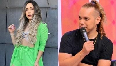 """Fer Pérez y """"la princesita de la cumbia"""" en un motel"""