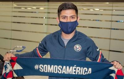 Sergio Díaz ya viste los colores del América