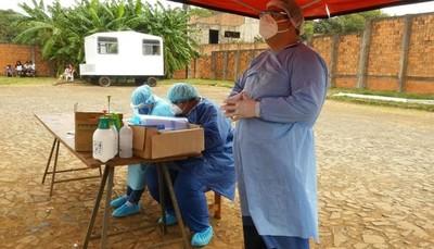Estallido de casos de Covid-19 en Alto Paraná