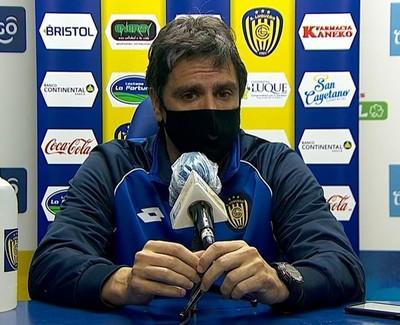 Rodrigo López lamenta la jornada gris ante River Plate