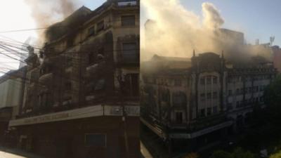 Propietarios deben asumir responsabilidad del incendio del ex Cine Teatro Victoria