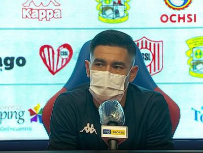 Conferencia de prensa de Cristian Martínez
