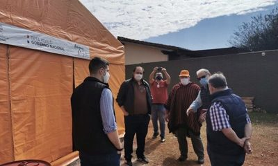 Autoridades verifican instalación de albergues en Alto Paraná