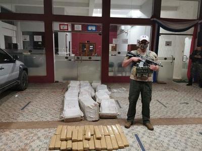 Yby Yaú; Incautan más de 430 kilos de marihuana – Prensa 5